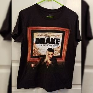 Drake Small Club Paradise Tour 2012 T-Shirt